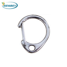 China Factory Wholesale Souvenirs 23mm Small D Ring Snap Hooks