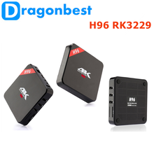 New! H96 RK3229 1G 8G TV BOX android tv board for medical use Android 6.0 media player box