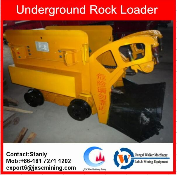 small Underground Mucking Loader with track