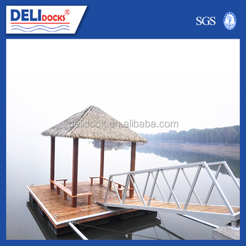 Floating rest view small platform
