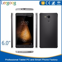 OEM China Cheap HD 6 inch android phone 8mp+2mp dual cameras quad core smartphone
