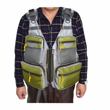 Wholesale multi pockets best selling fly fishing vest pack