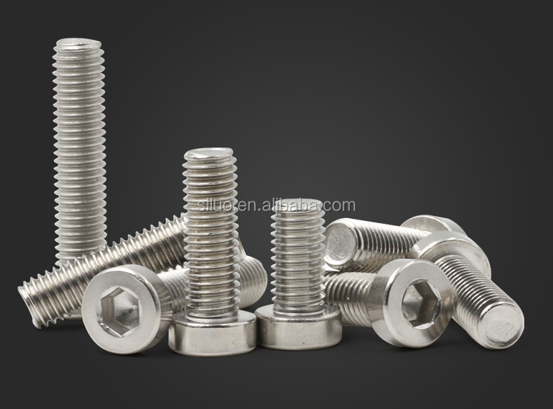 SS material inner hexagon socket head machine screw wholesale Price