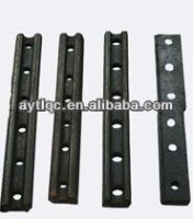 Rail fishplates ,high quality of rail fastener products