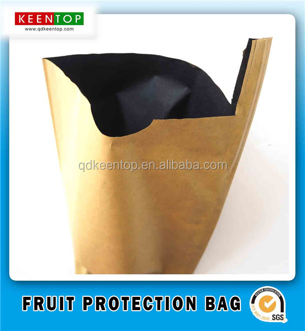 Wax Coated Water Proof Mango Fruit Protection Bag For Fruit Growing