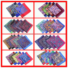 wholesale high quality Digital printed 100% silk pocket square