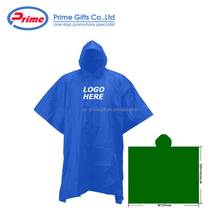 Wholesale Disposable Waterproof Rain Poncho for Promotion