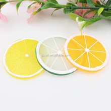 Dia. 50mm Simulation sliced apple orange lemon lime kiwi