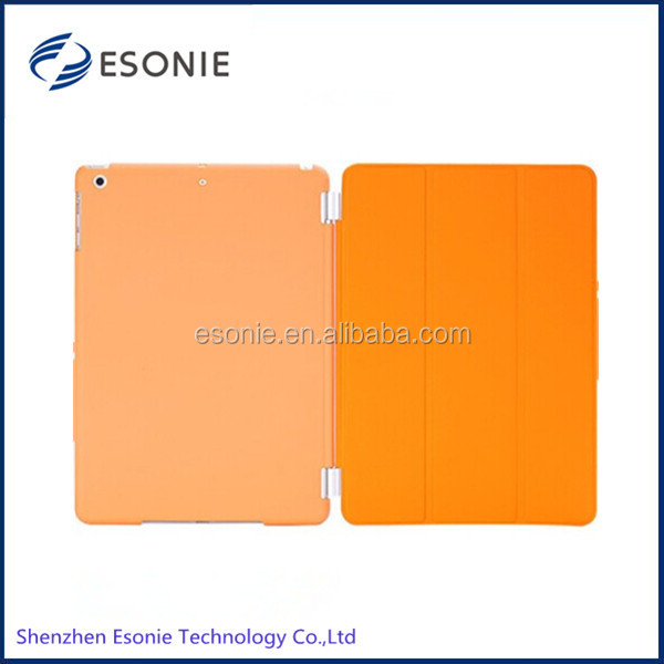 High quality For IPAD AIR smart case with Magnetic