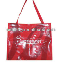 pp woven recycle shopping plastic bag manufacture for many years with SGS