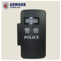 NIJ level III ballistic bullet proof police and anti-riot tactical hand-hold shield