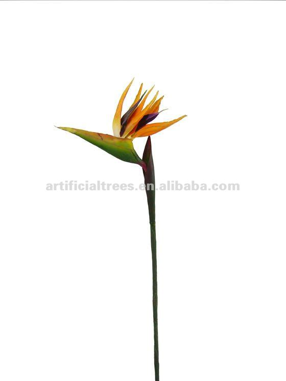 Artificial flower-paradise bird single