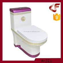 Hot sale sanitary ware bathroom set one piece washdown toilet Chaozhou manufacturer