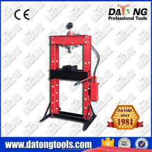 CE 30t Industrail Manual Hydraulic Shop Press With Gauge Winch