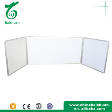 Best quality glass writing folding magnetic white board