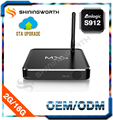 Hot tv box M12S Octa core Amlogic S912 2G 16G Android 6.0 KODI 16.0 Dual Band WIFI Module AP6255