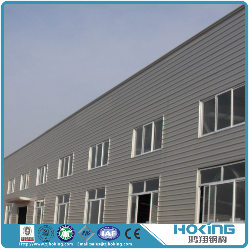 Famous Two Story Prefabricated Light Steel Frame Construction Building Warehouse for Sale