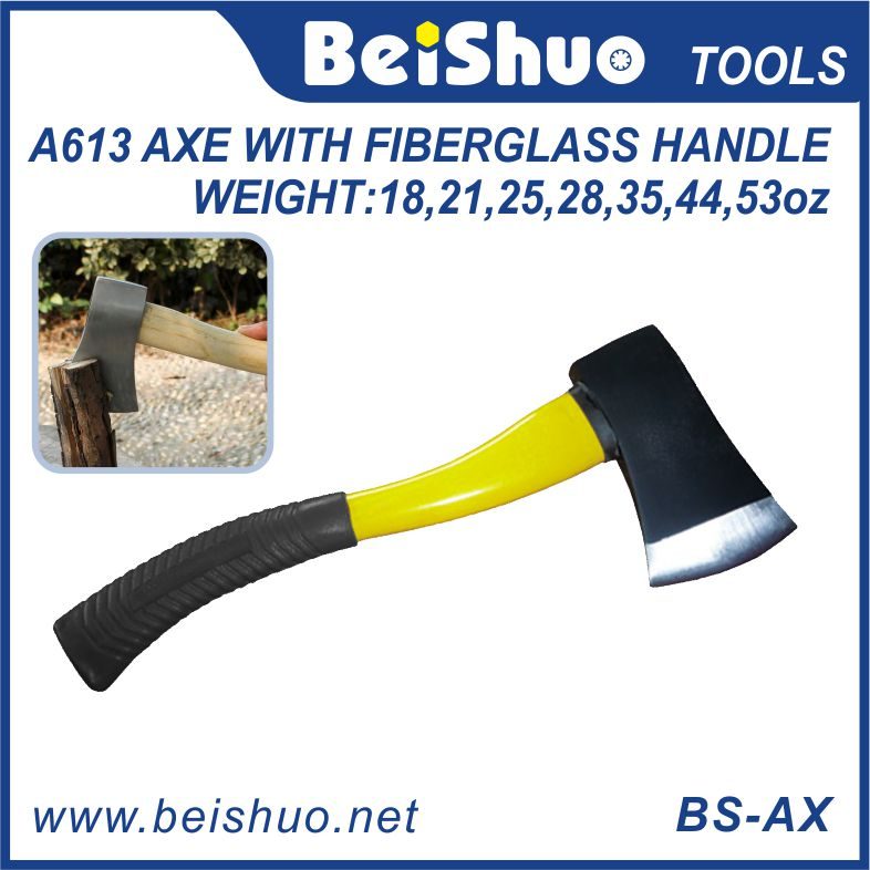 A613 Hatchet Axes with Fiberglass Handle Professional Hand Tools