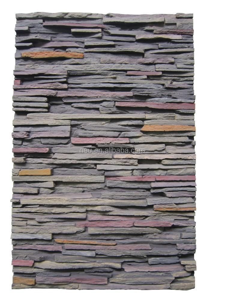 mousse rigide isolation polyur thane placage de bois 3d l gant rock panneau de pierre. Black Bedroom Furniture Sets. Home Design Ideas