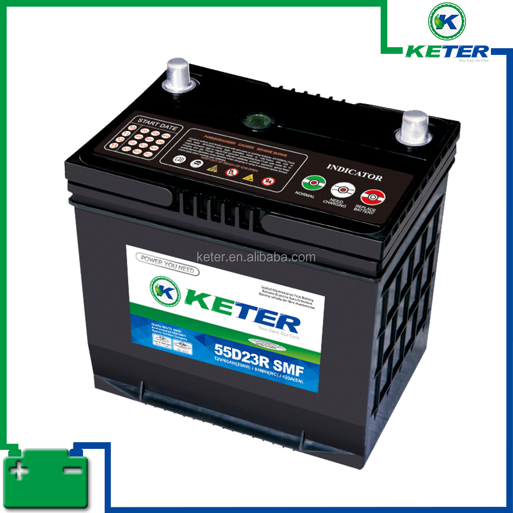 12v 100ah famous brands name car battery cover