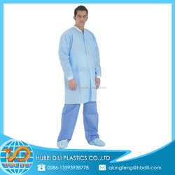 protective lab coat/nonwoven lab coat/fabric material for lab coat