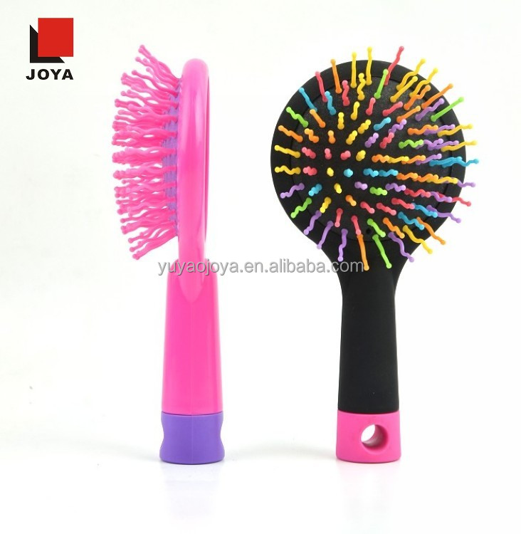 Magic hair color brush Rainbow Customized Massage comb