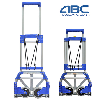 Factory directly selling colorful aluminum folding trolley