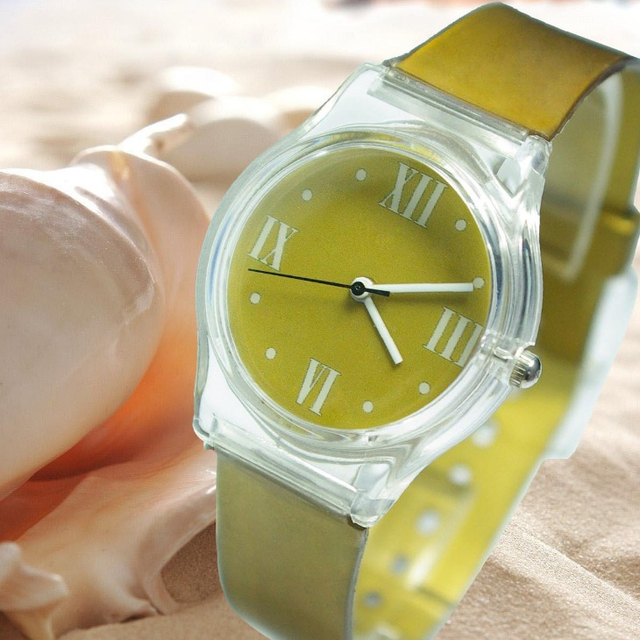 Kids cheap plastic watch for wholesale watch