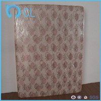 soft plastic pvc printed printing PVC mattress protective film of spring air comfort flex mattress