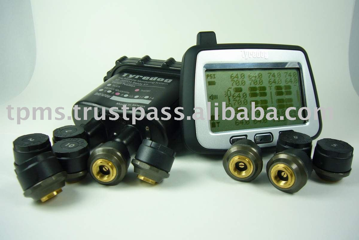Motorhome TPMS, 18 wheels truck & trailer Tire Pressure Monitoring System