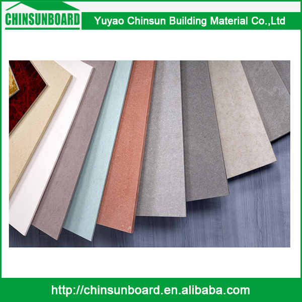CE certificated Tested Waterproof Finely Processed Use Beautiful Fiber Cement Siding Board