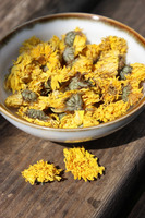 Chinese gold Chrysanthemum flower tea organic detox sliming body care Mum flower Tea