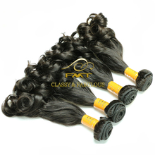 Double Drawn Long Lasting 9A Water Wave 100 Remy Human Braiding Hair Extension