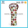 Wholesale Shock Resistance Portable Cute Picnic Wine Bottle Cooler Tote/Bag