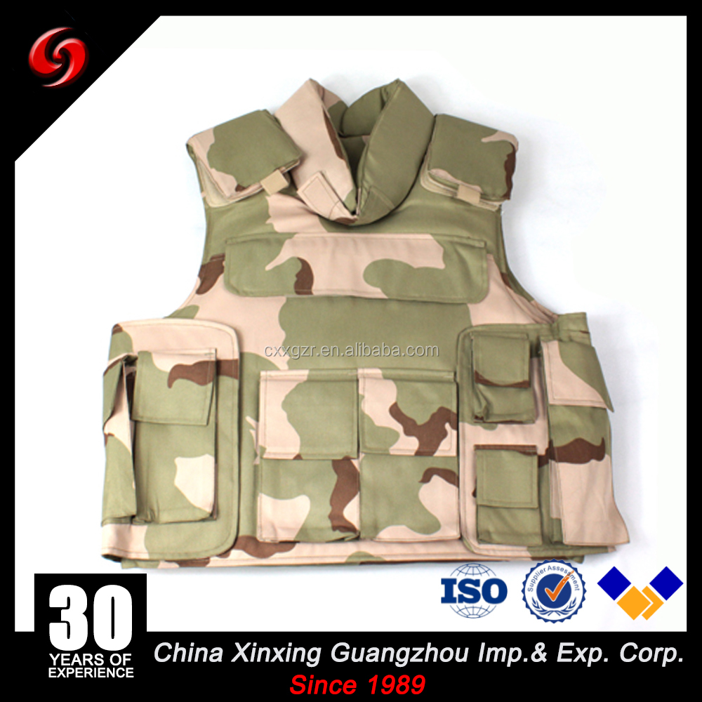American Standard Body Armor /Bulletproof carrier/neck protect for Army