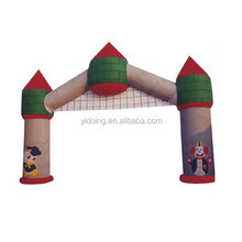 Giant inflatable garden arch gate party entrance, cartoon inflatable arch for amusement park K4011