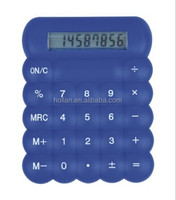 8 digit Blue Mini Desk Calculator