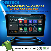 For VW Bora Wholesale alibaba android 4.4.4 car fm radios audio stereo gps Mp3/ 4 player support DVR BT 3G OBD SWC