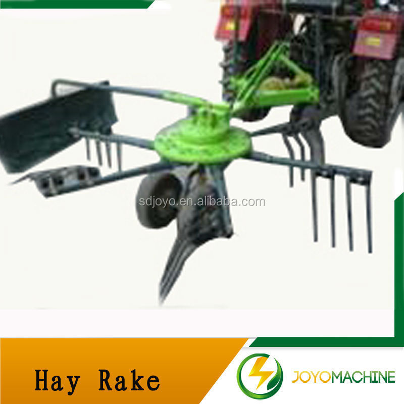 tractor hay rake and tedder