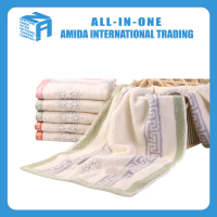 Cotton face towel absorbent hand towel of high quality