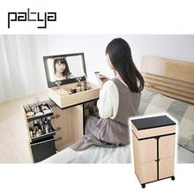 Patya Modern furniture Bedroom Vanity Table With Lighted Mirror