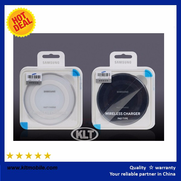 KLT Fast Qi Charger Stand Wireless Charger5V2A For Galaxy S6/S6 Edge/ s6 Edge plus/Note 5