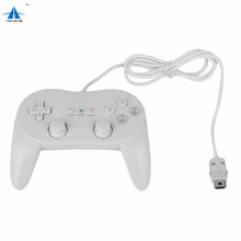 Classic Wired Game Controller Remote Pro Gamepad Shock Joypad Joystick For Nintendo Wii remote