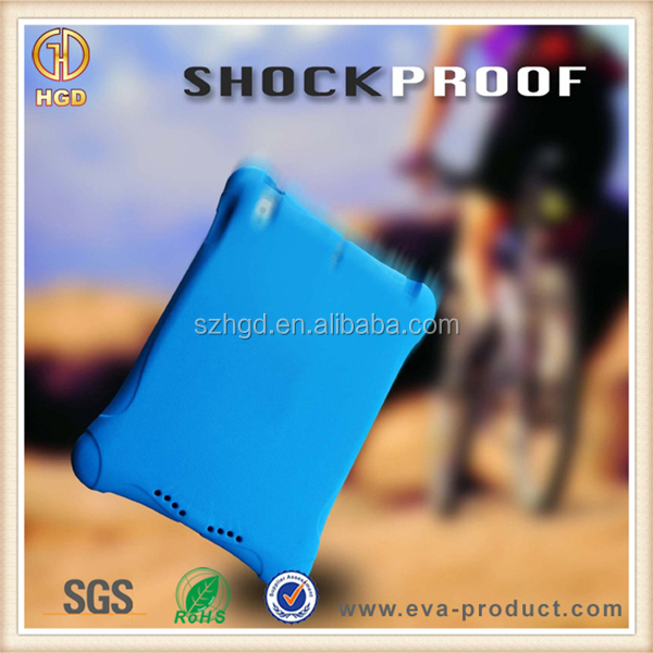 Kids shockproof light weight EVA foam smart cover for ipad air case