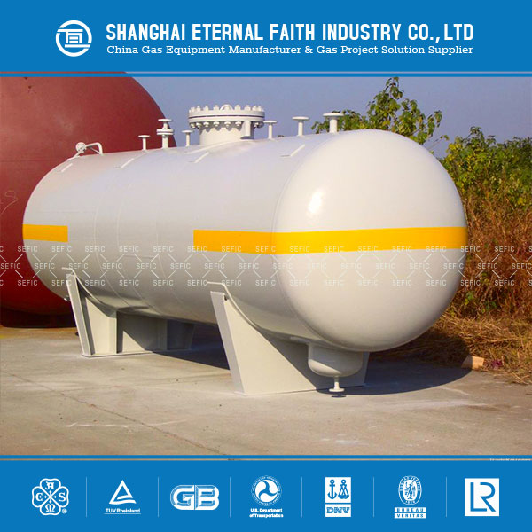 New Technology 100m3 Lpg Tank for LPG Gas Storage Tank Manufacturer