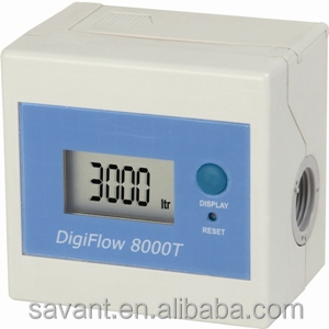 "3/8"" NPT with LCD display on flowmeter"