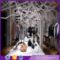 wood clothing hanging systems racks name brand store