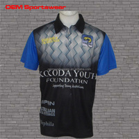 Sublimated high quality custom dry fit bowling shirts