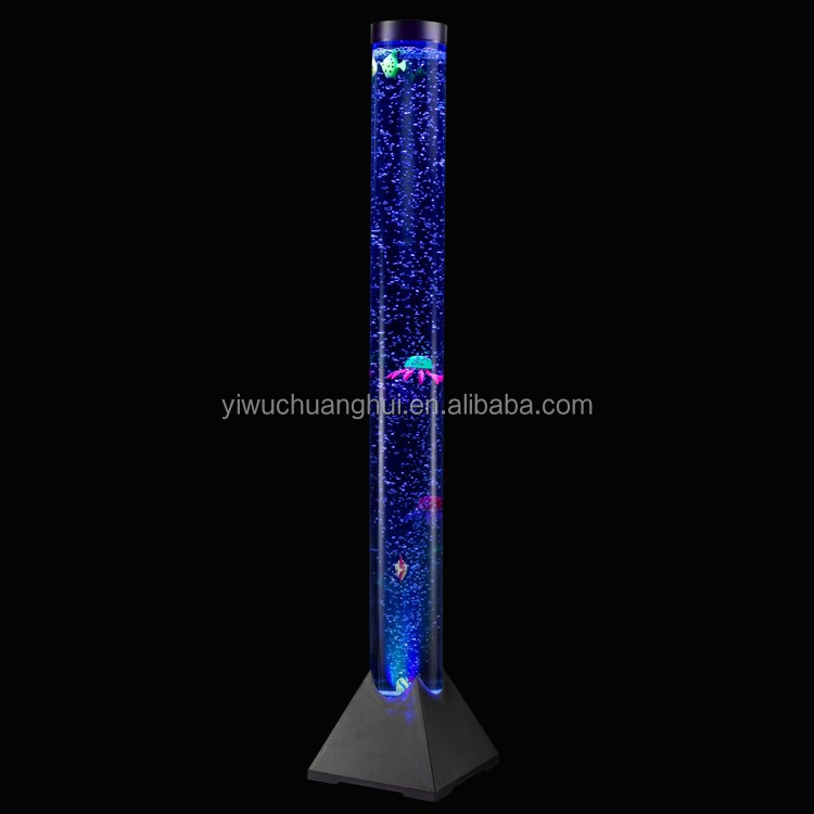 European Acrylic 120cm Led Decoration Light Water Bubble Lamp