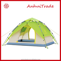 3-4 person double layer alpine automatic camping tent